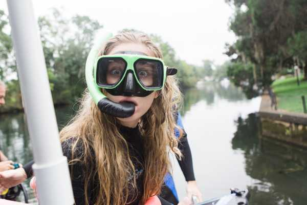 Crystal River Fun Day with Manatees